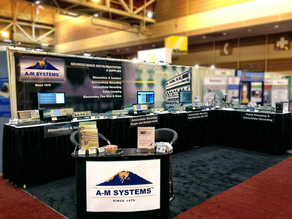 A-M Systems Booth at Neuroscience 2012