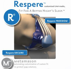 3D-Printed CPAP Face Mask by Metamason