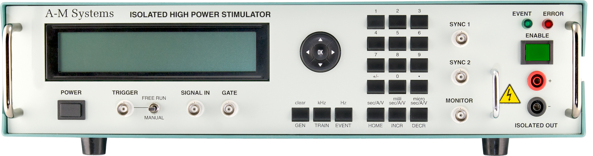 See Our New Isolated Stimulator at Neuroscience 2015